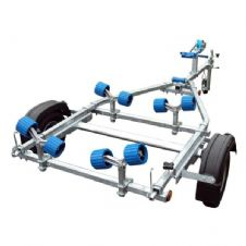Extreme EXT350 Roller Galvanised Boat Trailer